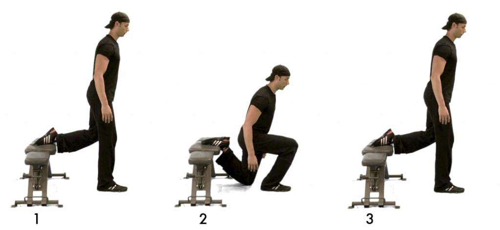 bulgarian squats