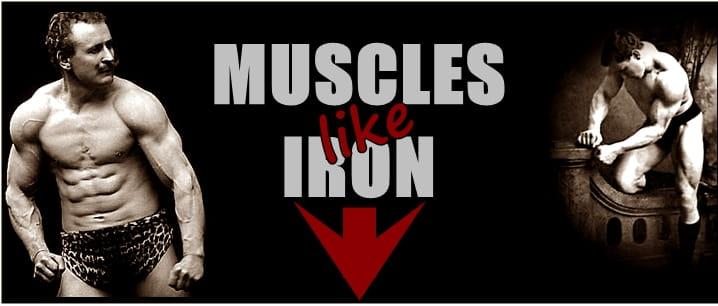 Мускули от желязо