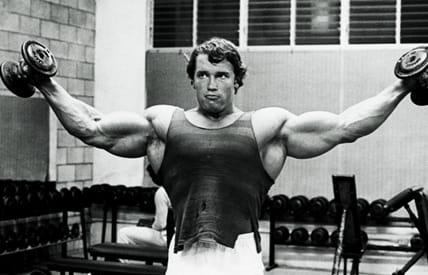 Тренировка за рамене от Арнолд Шварценегер