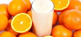 Портокалово мляко