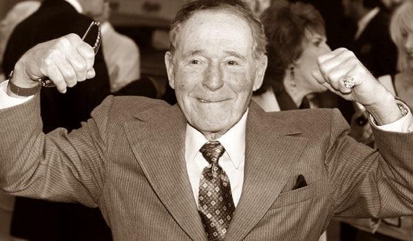 Джак Лалейн на 93 години