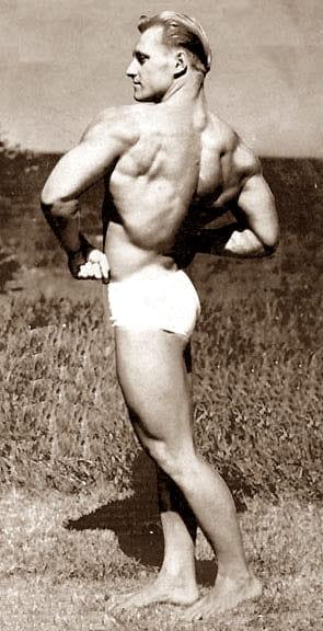 Алан Стефан - Мистър Америка 1946