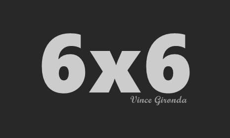 Тренирай с метода 6х6 на Винс Жиронда