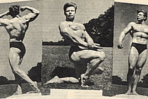 Тренировката на Хенри Даунс – Мистър Англия 1957