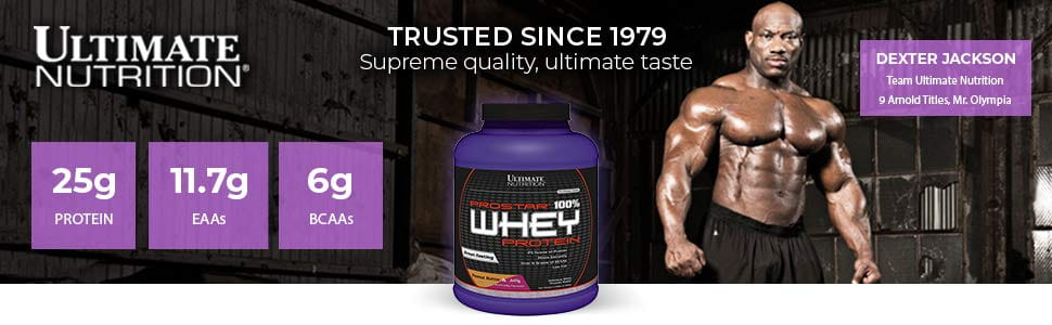 Ultimate Nutrition 100% Prostar whey е храната за шампиони!