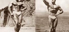 Тренировката на Кланси Рос за Мистър Америка 1945 година