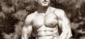 Тренировката на Хари Джонсън за Мистър Америка 1959 (AAU)