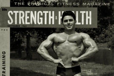 Тренировката на Ранди Уотсън  – Мистър Америка 1963 г за младежи